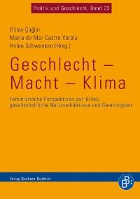 Cover Geschlecht - Macht - Klima