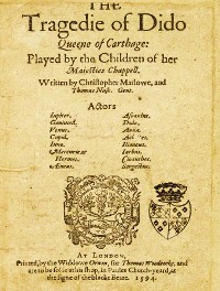 Cover The Tragedy of Dido Queene of Carthage