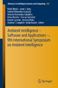 Cover Ambient Intelligence – Software and Applications –, 9th International Symposium on Ambient Intelligence