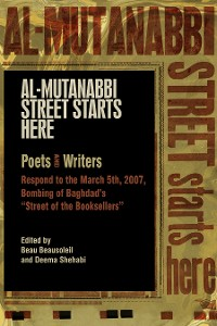 Cover Al-Mutanabbi Street Starts Here
