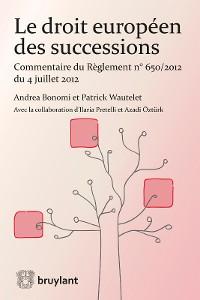 Cover Le droit européen des successions