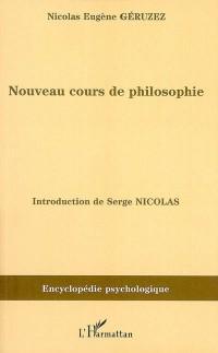 Cover Nouveau cours de philosophie