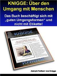 Cover KNIGGE: Über den Umgang mit Menschen - 279 Seiten