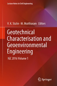 Cover Geotechnical Characterisation and Geoenvironmental Engineering
