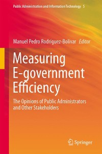 Cover Measuring E-government Efficiency