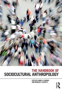 Cover Handbook of Sociocultural Anthropology