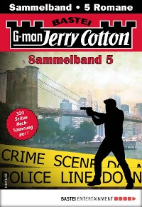 Cover Jerry Cotton Sammelband 5 - Krimi-Serie
