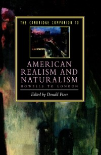 Cover Cambridge Companion to American Realism and Naturalism