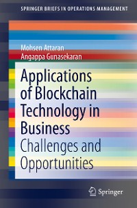 Cover Applications of Blockchain Technology in Business