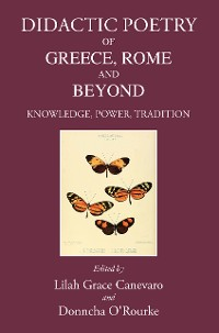 Cover Didactic Poetry of Greece, Rome and Beyond