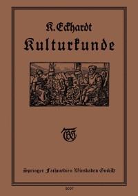 Cover Kulturkunde