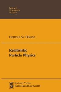 Cover Relativistic Particle Physics
