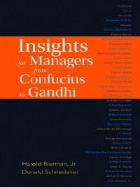 Cover Insights For Managers From Confucius to Gandhi