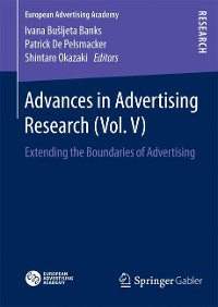 Cover Advances in Advertising Research (Vol. V)