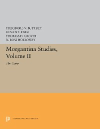 Cover Morgantina Studies, Volume II