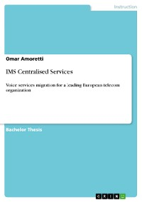 Cover IMS Centralised Services