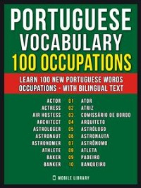 Cover Portuguese Vocabulary - 100 Occupations