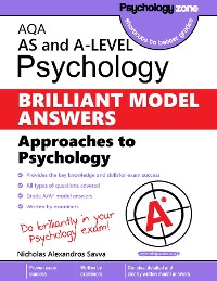 Cover AQA Psychology BRILLIANT MODEL ANSWERS: Approaches