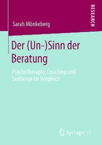 Cover Der (Un-)Sinn der Beratung