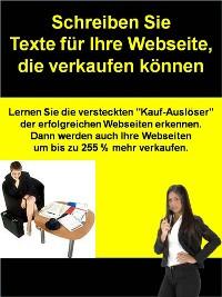 Cover Schreiben Sie Texte für Ihre Webseite, die verkaufen können