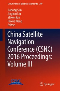Cover China Satellite Navigation Conference (CSNC) 2016 Proceedings: Volume III