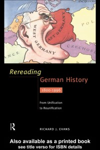 Cover Rereading German History