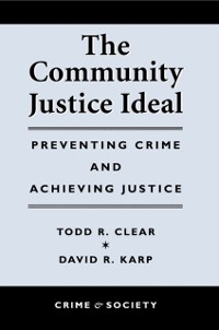 Cover Community Justice Ideal