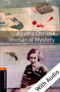 Cover Agatha Christie, Woman of Mystery - With Audio Level 2 Oxford Bookworms Library