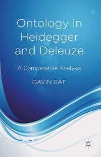Cover Ontology in Heidegger and Deleuze