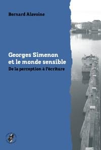 Cover Georges Simenon et le monde sensible