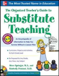 Cover Organized Teacher s Guide to Substitute Teaching