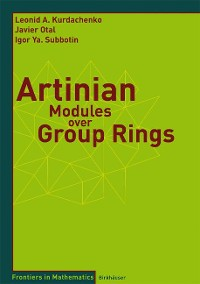 Cover Artinian Modules over Group Rings