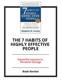 Cover The 7 Habits of Highly Effective People