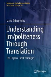 Cover Understanding Im/politeness Through Translation