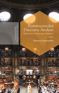 Cover Poststructuralist Discourse Analysis