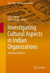 Cover Investigating Cultural Aspects in Indian Organizations