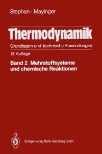 Cover Thermodynamik. Grundlagen und technische Anwendungen