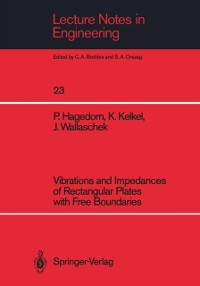 Cover Vibrations and Impedances of Rectangular Plates with Free Boundaries