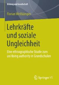 Cover Lehrkräfte und soziale Ungleichheit