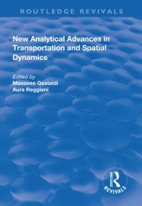 Cover New Analytical Advances in Transportation and Spatial Dynamics
