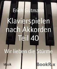 Cover Klavierspielen nach Akkorden Teil 40