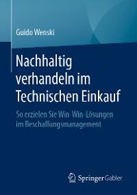 Cover Nachhaltig verhandeln im Technischen Einkauf