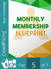 Cover Monthly Membership Blueprint