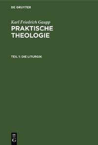 Cover Die Liturgik