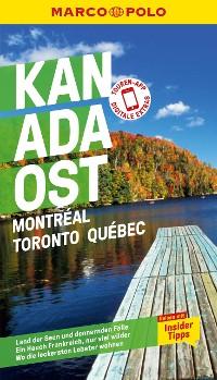 Cover MARCO POLO Reiseführer Kanada Ost, Montreal, Toronto, Québec