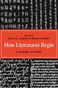 Cover How Literatures Begin
