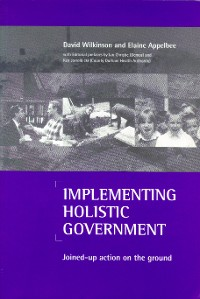 Cover Implementing holistic government