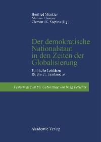 Cover Der demokratische Nationalstaat in den Zeiten der Globalisierung