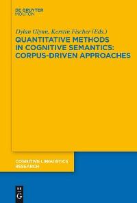 Cover Quantitative Methods in Cognitive Semantics: Corpus-Driven Approaches
