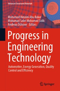 Cover Progress in Engineering Technology